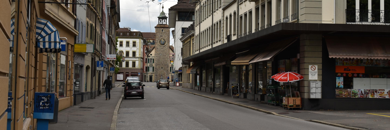 Rue d'Italie entrée Est