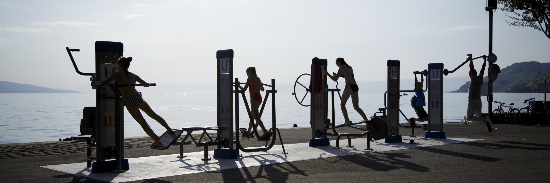 Fitness extérieur QMB