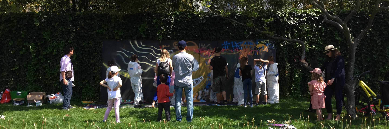 Atelier de graffiti