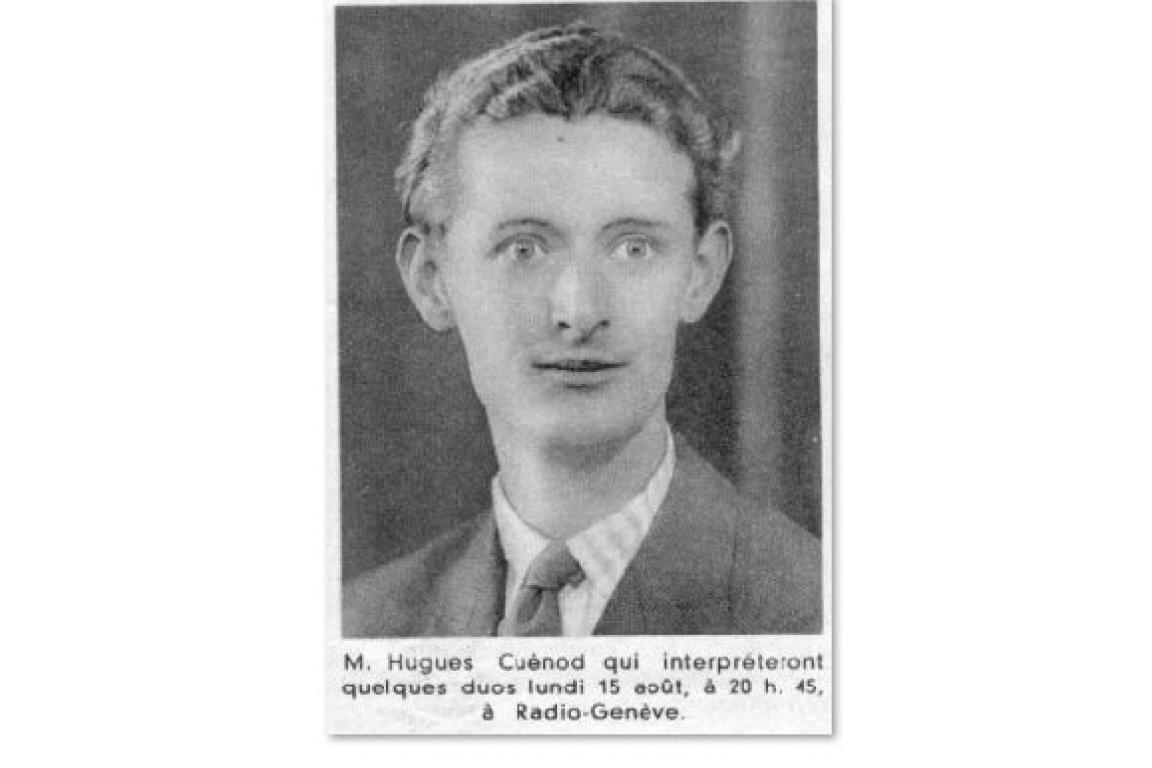 Hugues Cuenod 1938