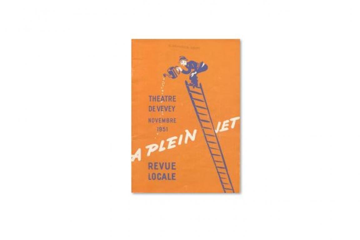 """Revue """"A Plein Jet"""", 1951"""