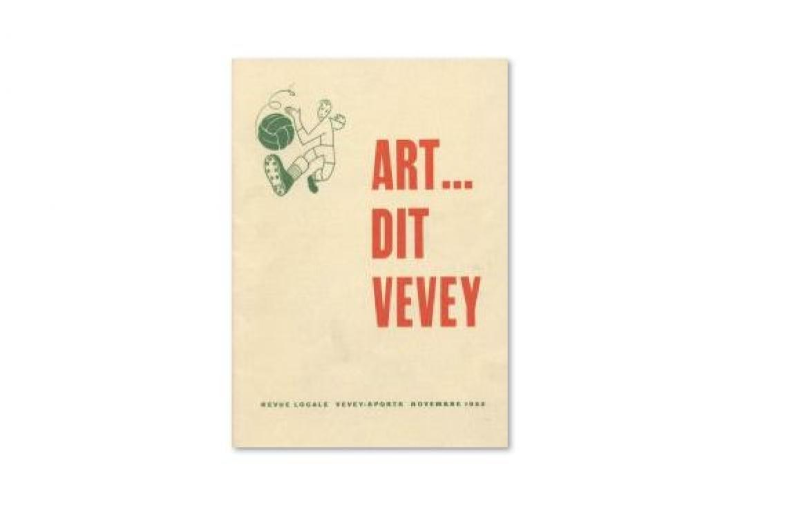 """Revue """"Art...Dit Vevey"""", 1952"""