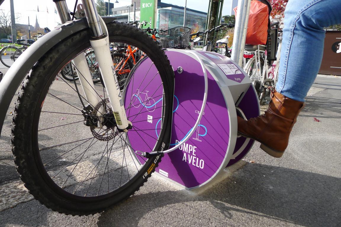 Pompe à vélo
