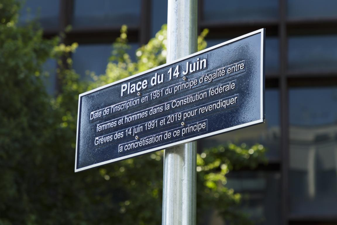 Inauguration Place du 14-Juin
