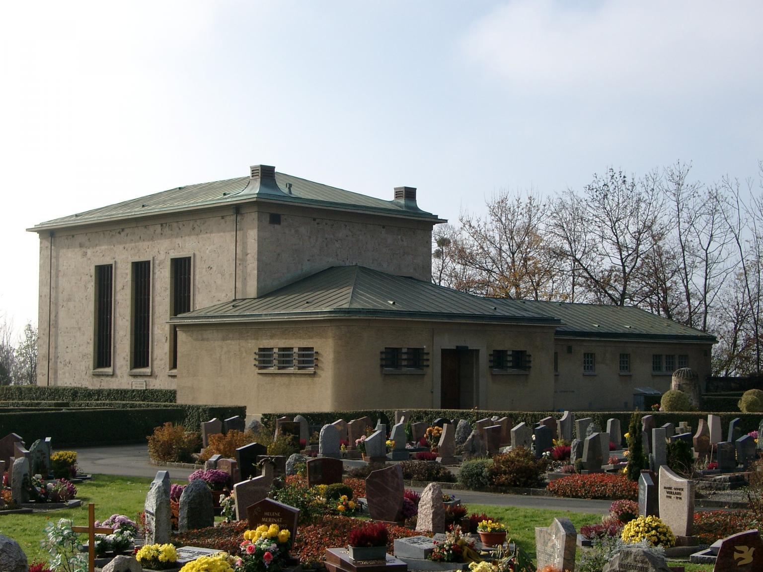 Centre funéraire du cimetière de Saint-Martin