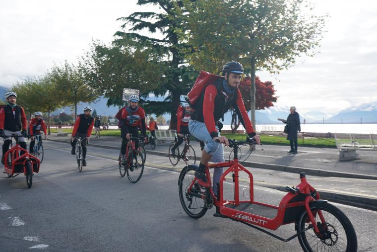 Coursiers à vélo, Vélocité Riviera