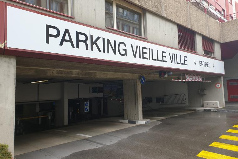 Parking Vieille Ville Vevey