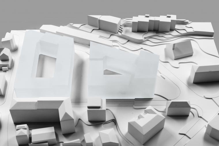 Esplanade Plan-Dessus maquette illustrative