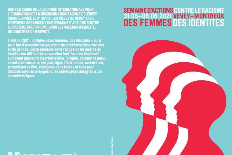 « Des femmes et des identités » au programme de la semaine d'actions contre le racisme à Vevey et Montreux