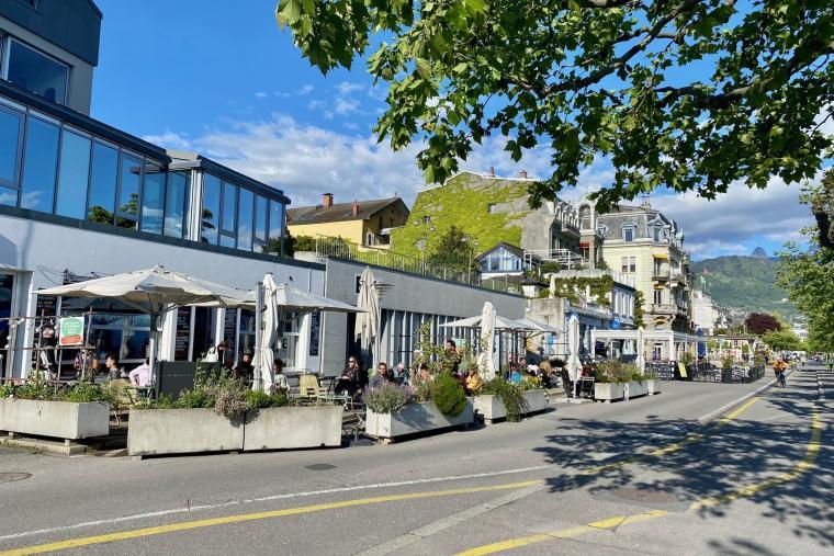 Terrasses Quai Perdonnet - Vevey