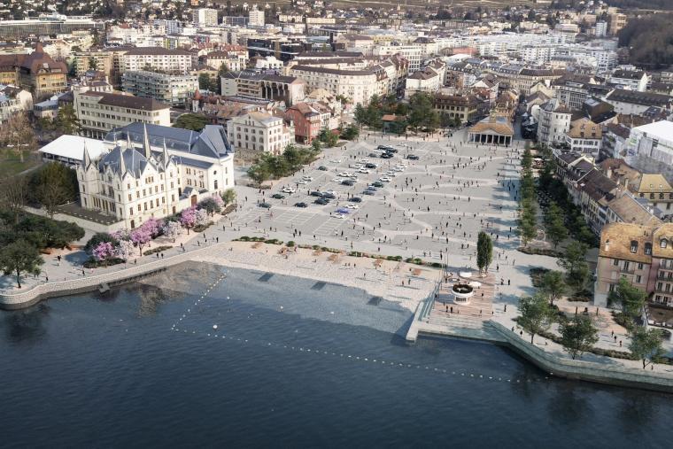 Projet réaménagement Place du Marché
