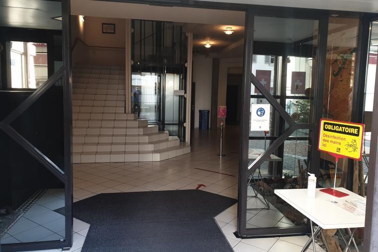 Réouverture de guichets de l'Hôtel de Ville de Vevey