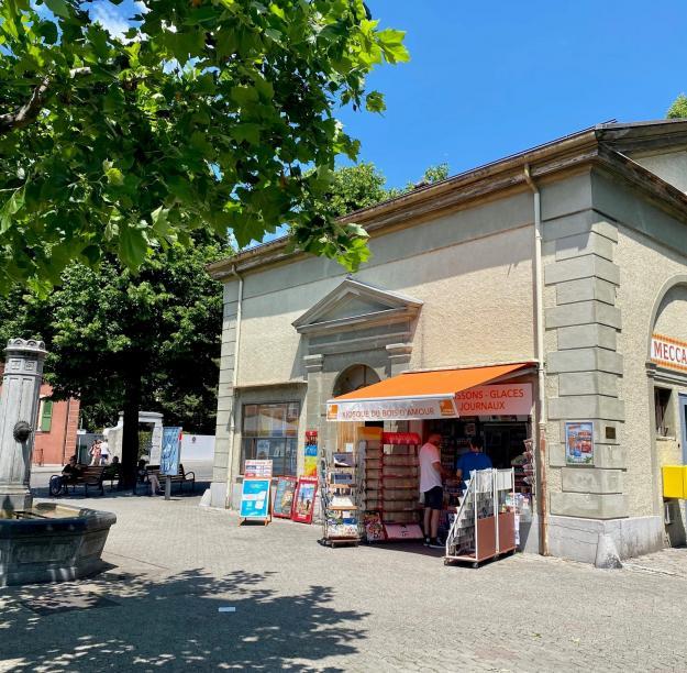 la Municipalité de Vevey lance un appel d'offres à prestations d'architecte pour la rénovation de ce pavillon et sa réaffectation en café-restaurant à partir de février 2024